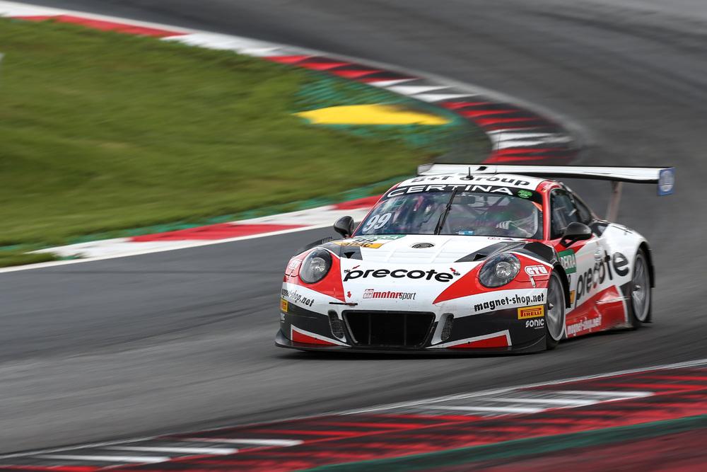 24H Spa Team75 Bernhard And Herberth Motorsport Field Three Porsche 911 GT3 R