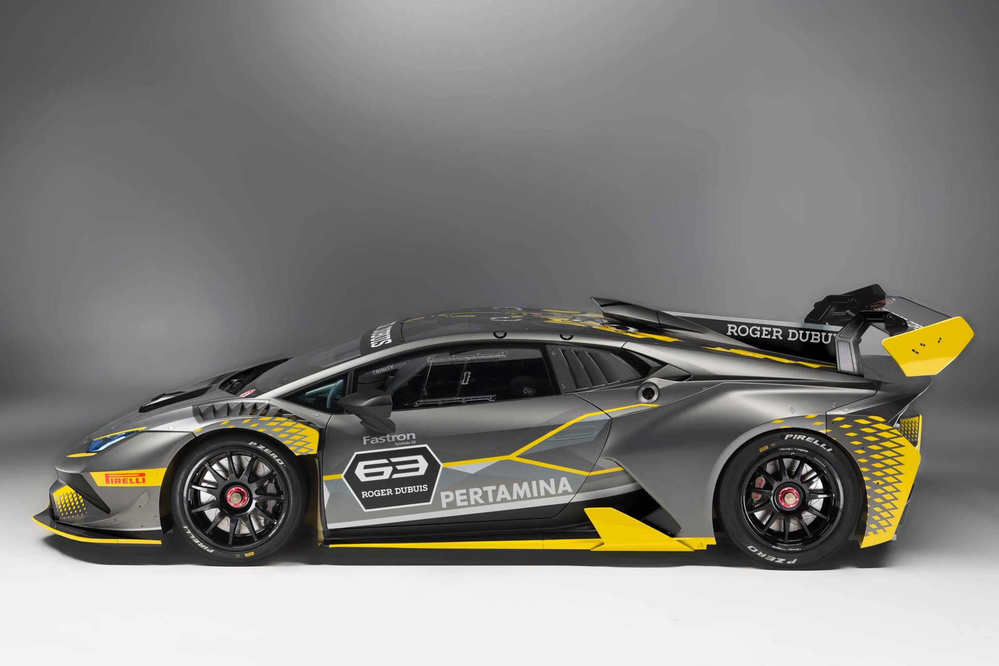 World Premiere Of The Lamborghini Huracan Super Trofeo Evo