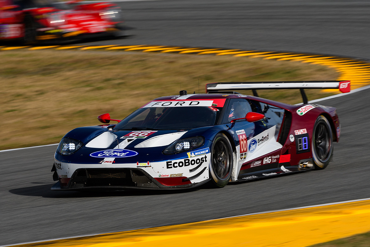 Joey Hand Was Close But Not Quite Close Enough As He Nearly Put The No  Ford Gt On Pole At Daytona International Speedway For The Second Year In A Row