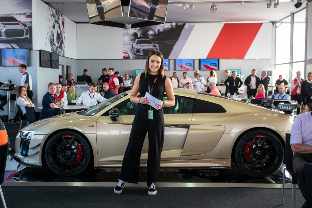 One Of A Kind Audi R8 Unveiled As Prize For 2018 Audi Sport R8 Lms
