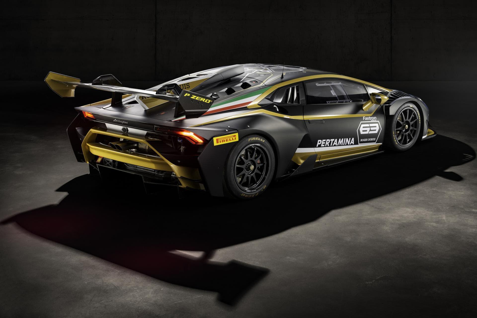 Lamborghini Huracan Super Trofeo Evo Collector 2019 Black Gold Endurance Info English Spoken