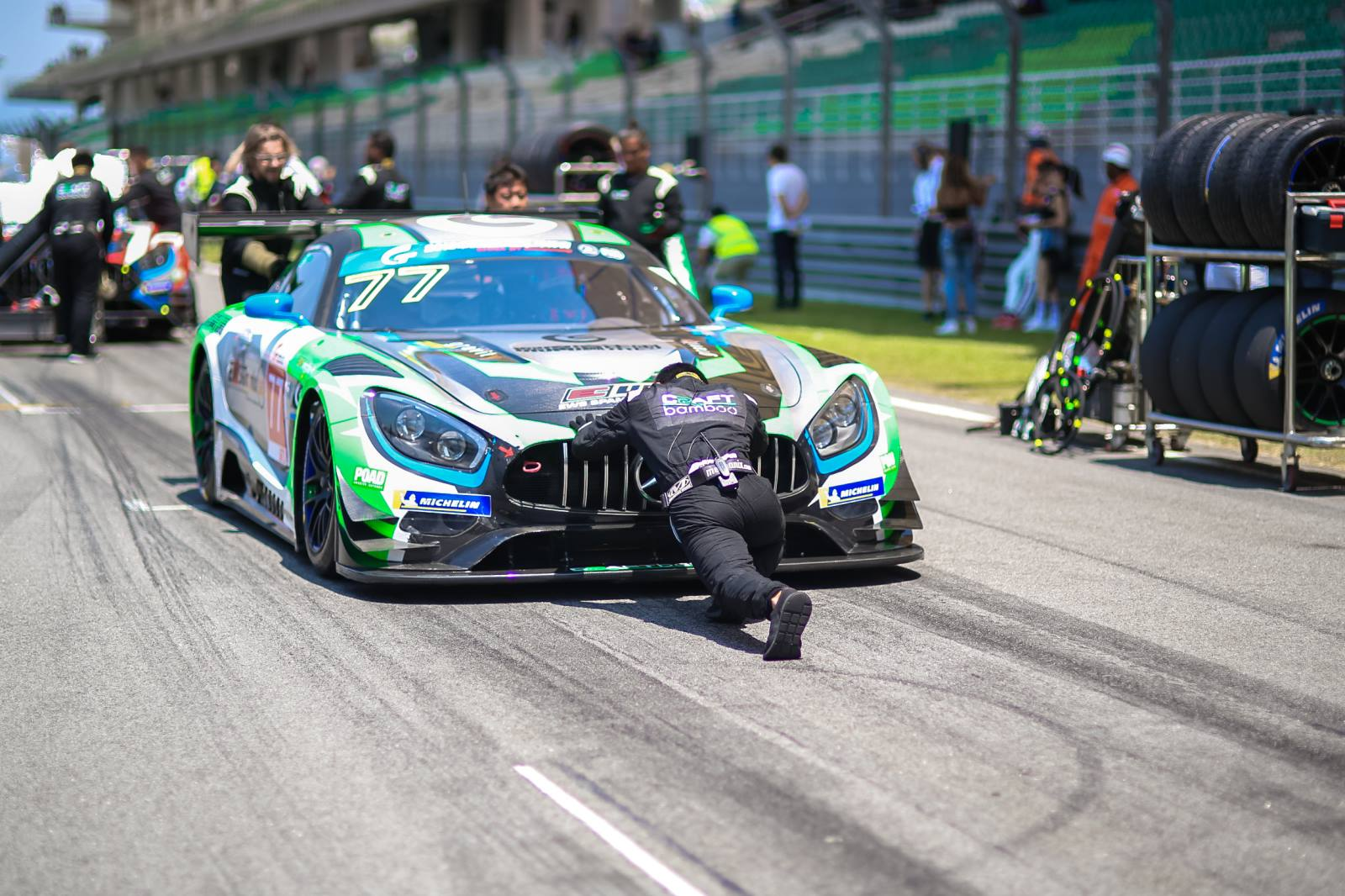 Craft-Bamboo switches to Mercedes-AMG, confirms Blancpain