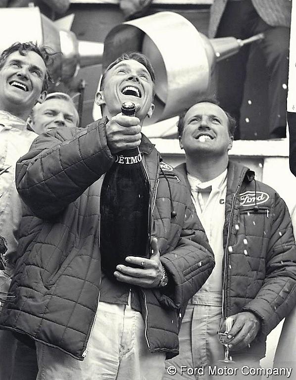 24 Heures du Mans 1967 : L'interview des vainqueurs, Dan Gurney et A.J.  Foyt | Endurance info