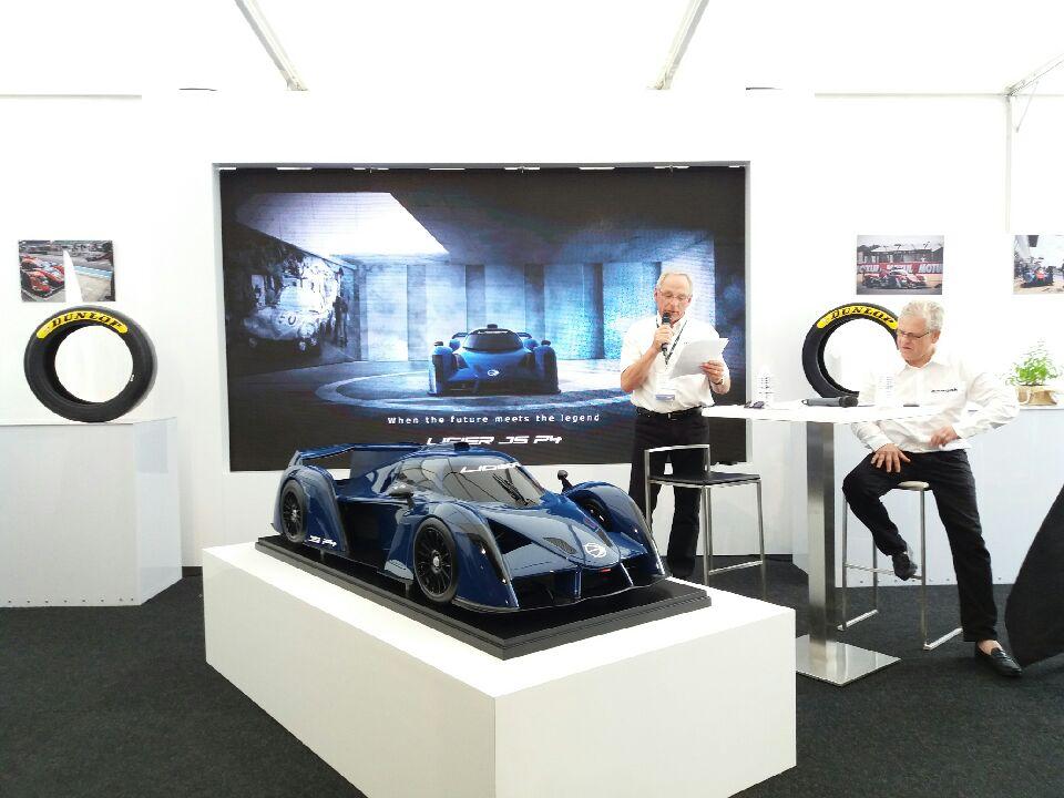 Onroak présente sa Ligier JS P4 au Mans