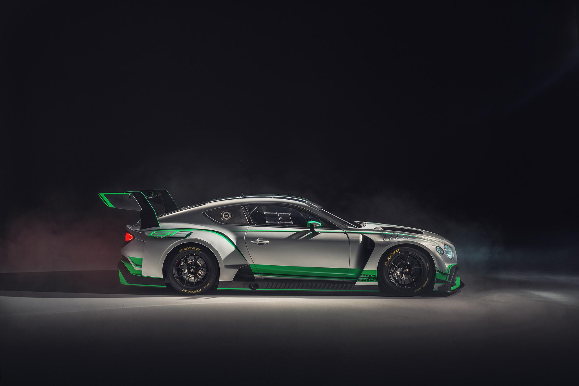 Bentley dévoile sa nouvelle Continental GT3