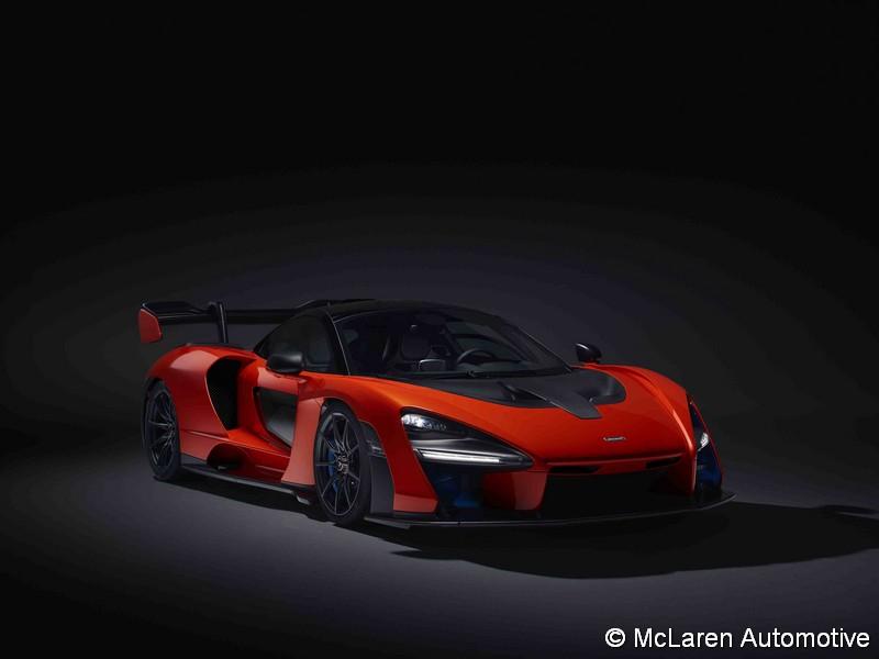 Le constructeur dévoile sa nouvelle supercar — McLaren Senna