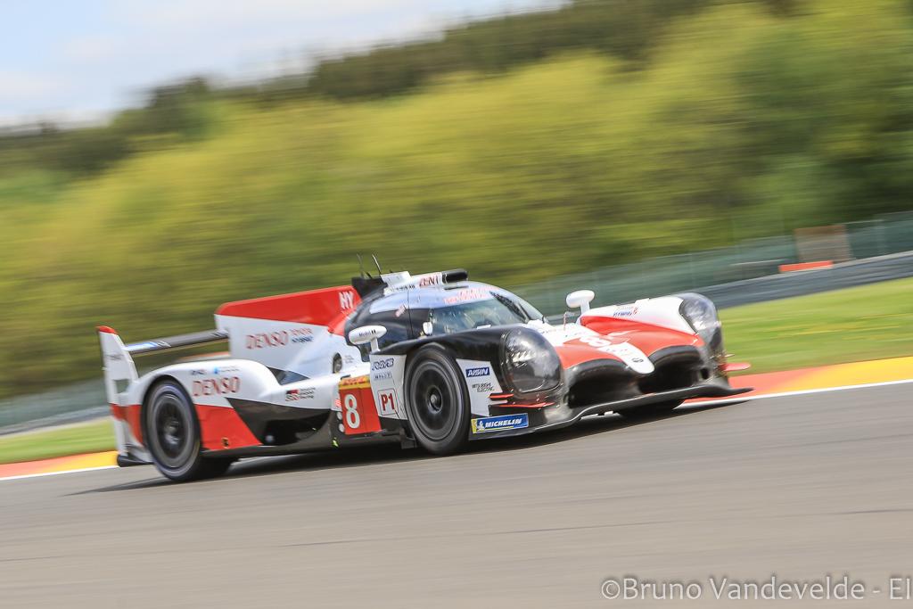Heures de Spa : La Toyota de Fernando Alonso finalement en pole position
