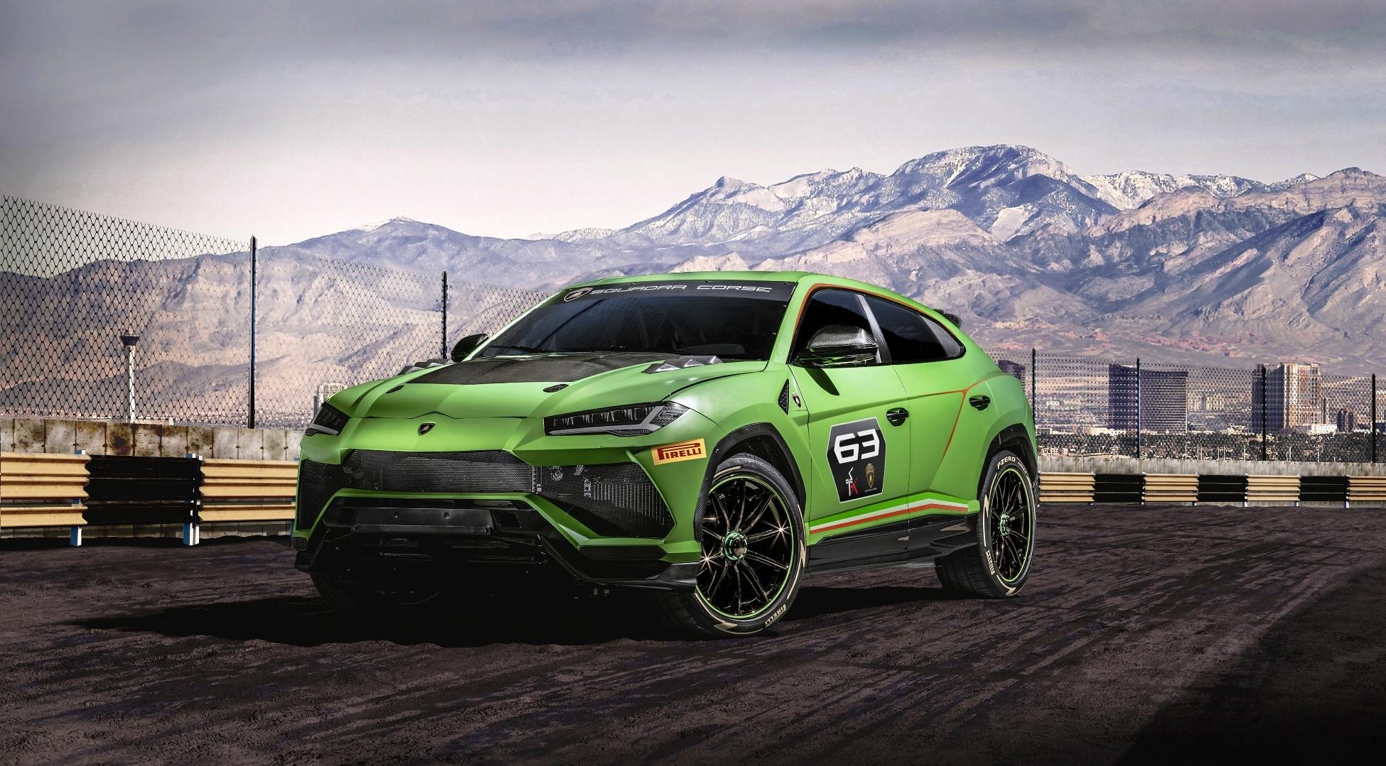 Lamborghini présente le Urus ST-X Concept