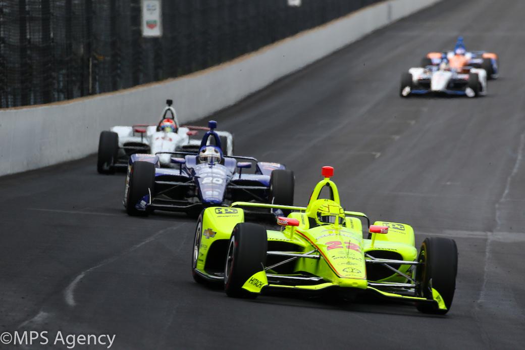 Le Français Simon Pagenaud (Penske) remporte les 500 miles d'Indianapolis