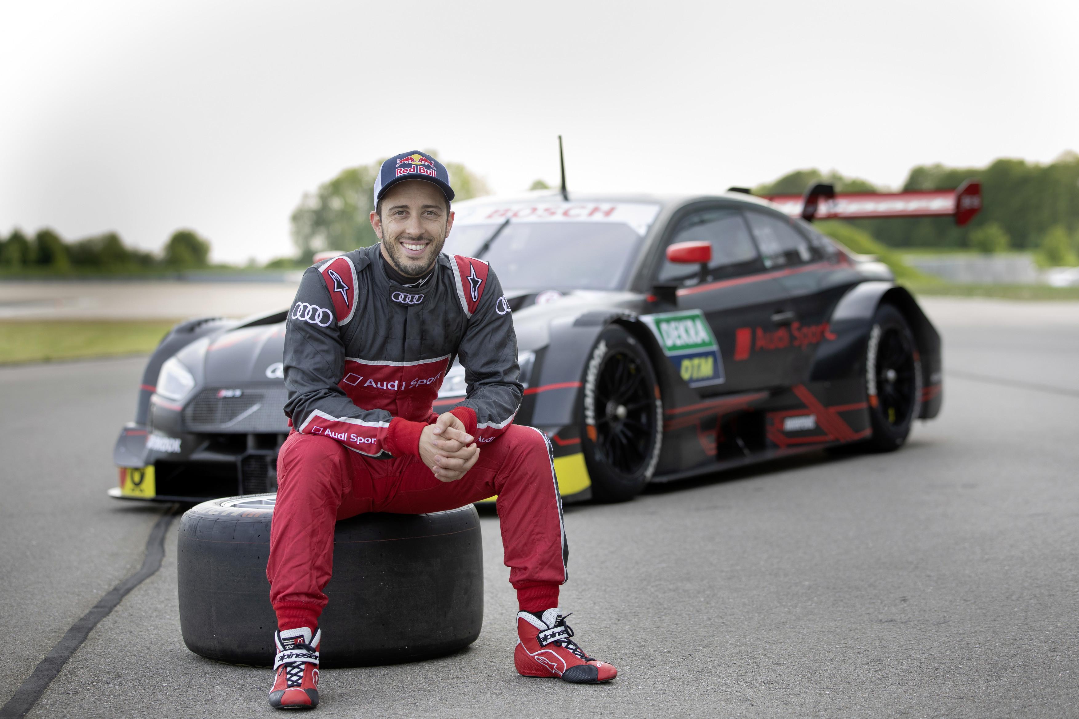 Le pilote moto italien Andrea Dovizioso va rouler pour une écurie belge