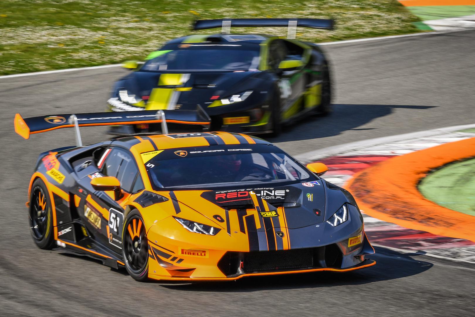 Lamborghini Super Trofeo >> First Round Of The Lamborghini Super Trofeo Europe To Be