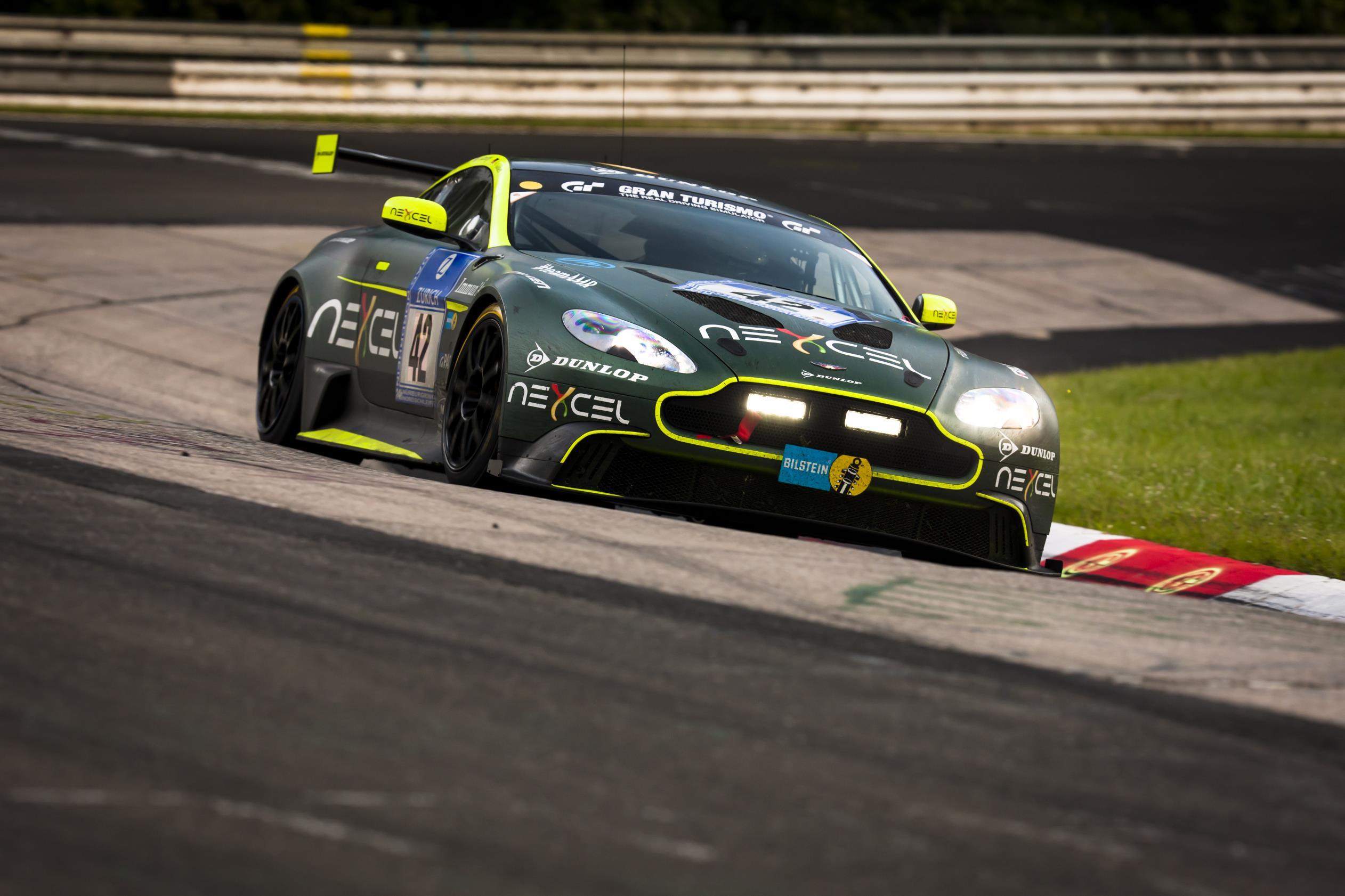 Aston Martin Vantage Gt8 Returns To The Green Hell Endurance Info English Spoken