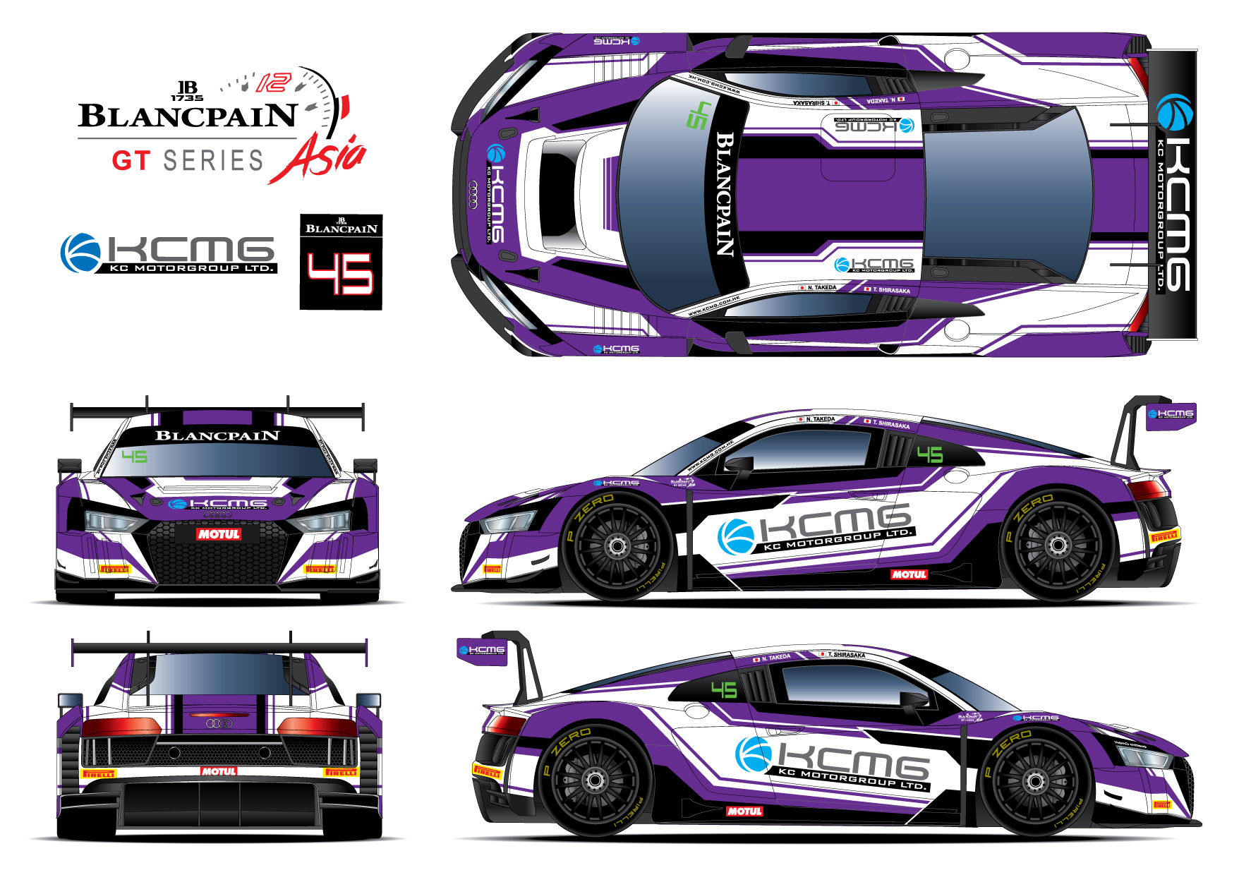 KCMG reveals 2018 Blancpain GT Series Asia Am/Am line up ...