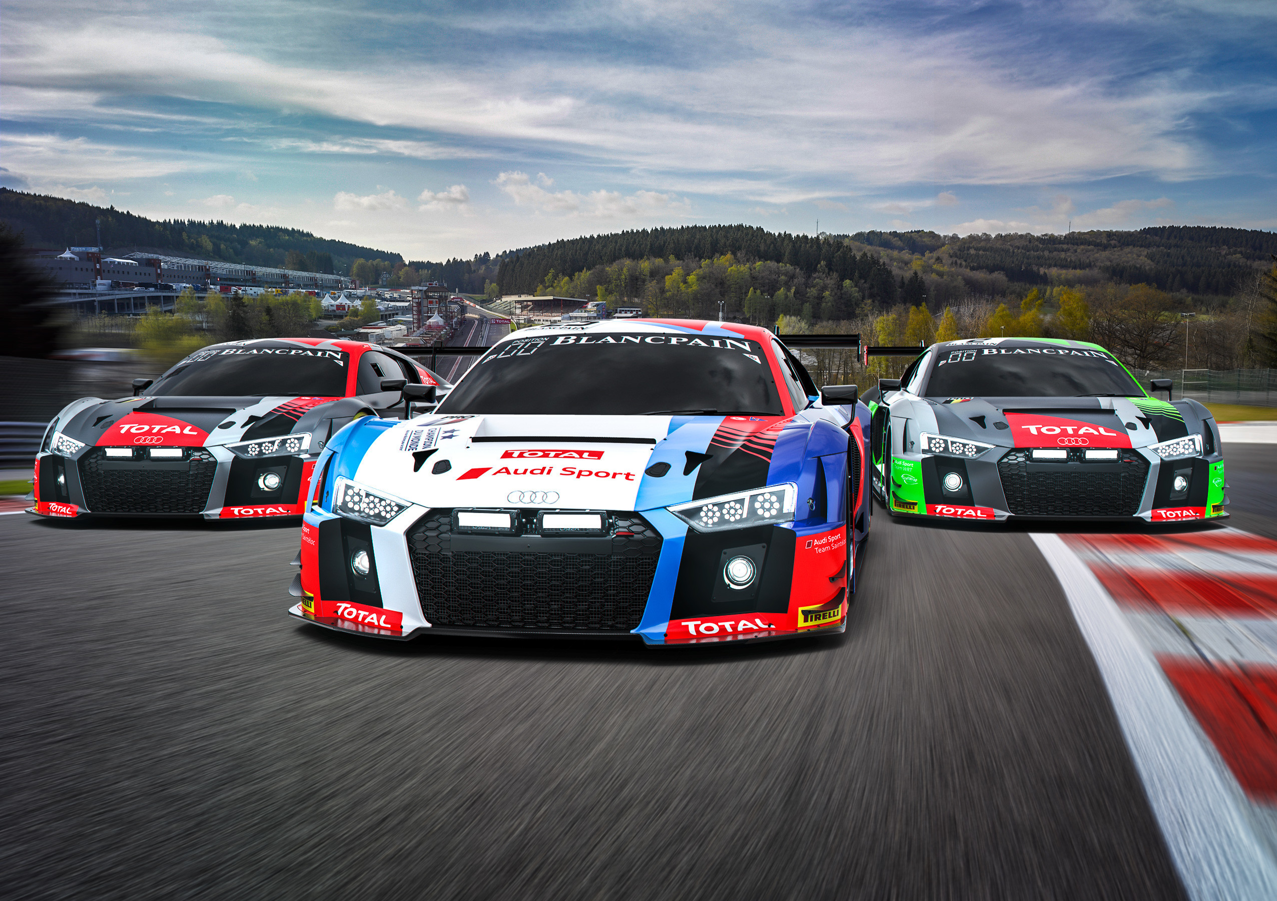 Audi Aims For Fifth Victory In Spa 24 Hours Endurance Info