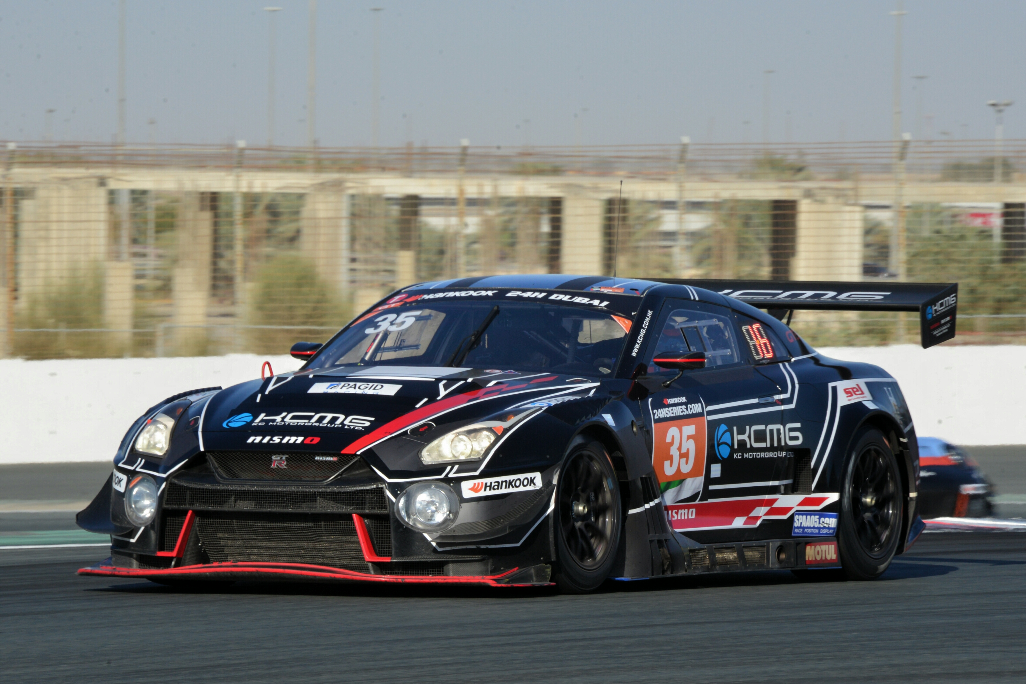 KCMG Nissan GT-R's strong pace goes unrewarded in Dubai ...