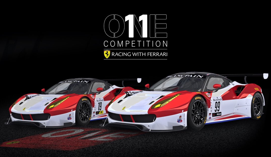 One11 Competition Launches Ferrari Gt3 Program Endurance Info English Spoken