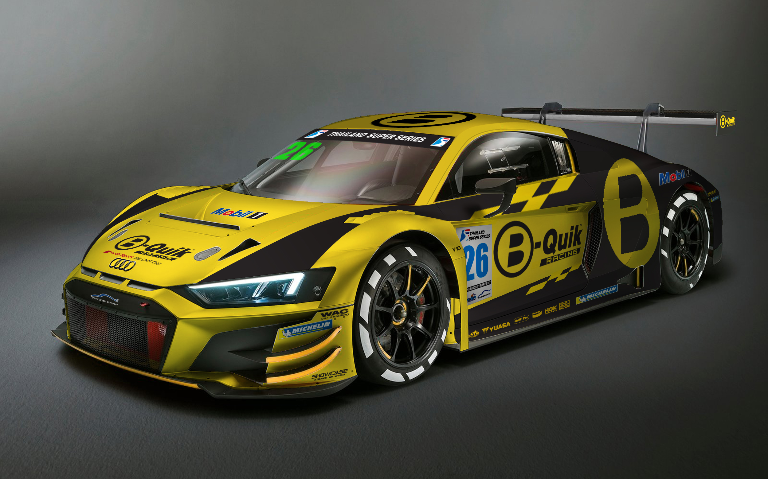 Two Audi Gt3 Entries For B Quik Racing In Thailand Super Series Endurance Info English Spoken