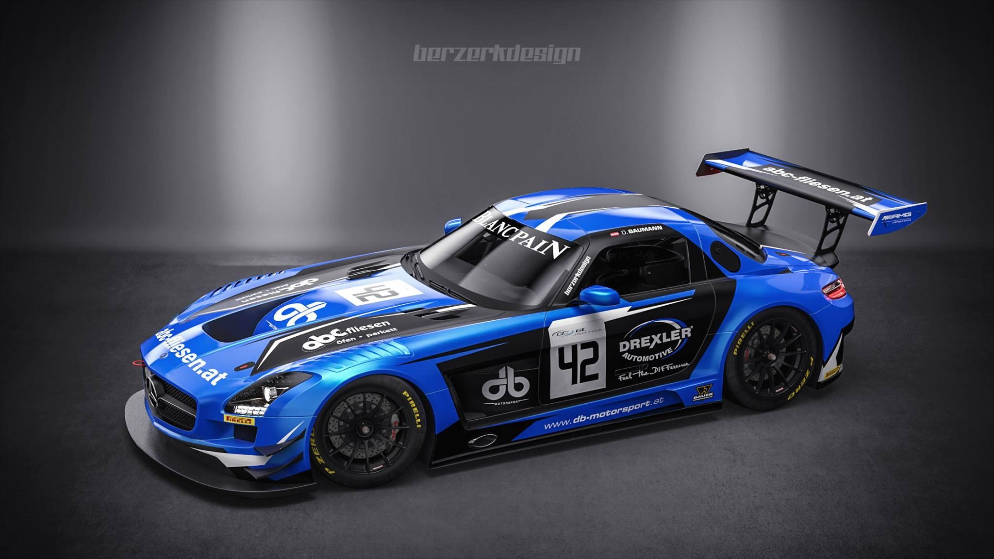 Une Mercedes SLS AMG GT3 pour le DB Motorsport | Endurance