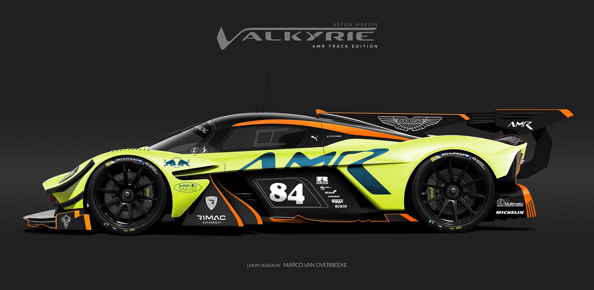 Et si l'Aston Martin Valkyrie disputait les 24 Heures du ...