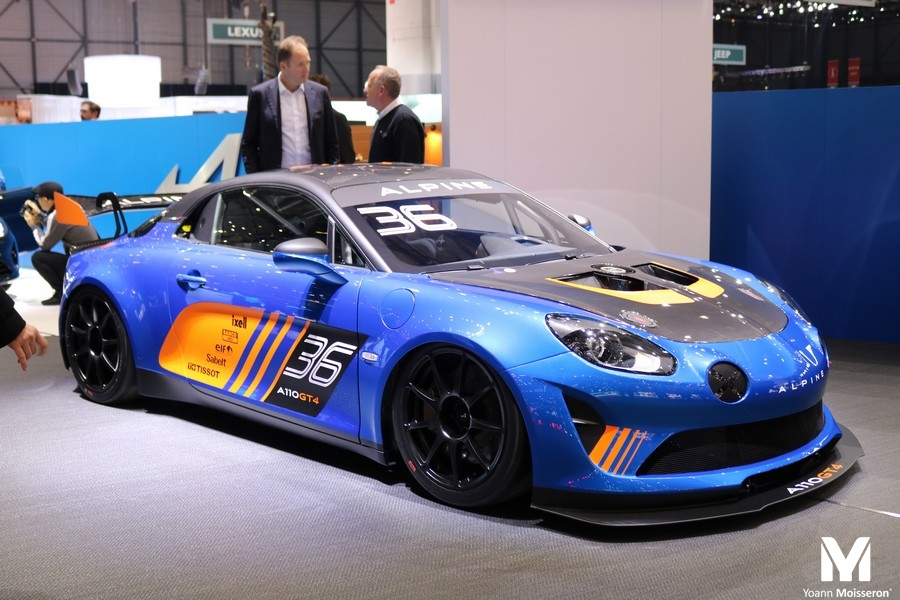 les premi res alpine a110 gt4 pour cmr endurance info. Black Bedroom Furniture Sets. Home Design Ideas