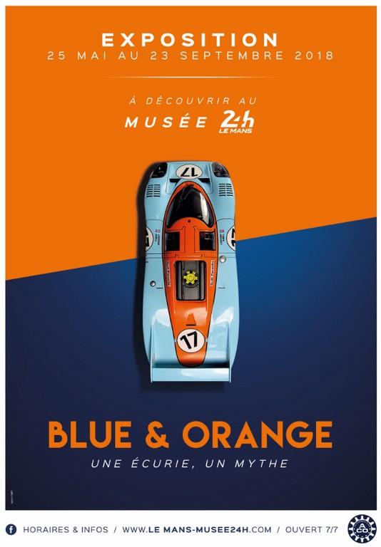 """Blue & Orange"""", l'hommage du Musée des 24 Heures à John Wyer"""