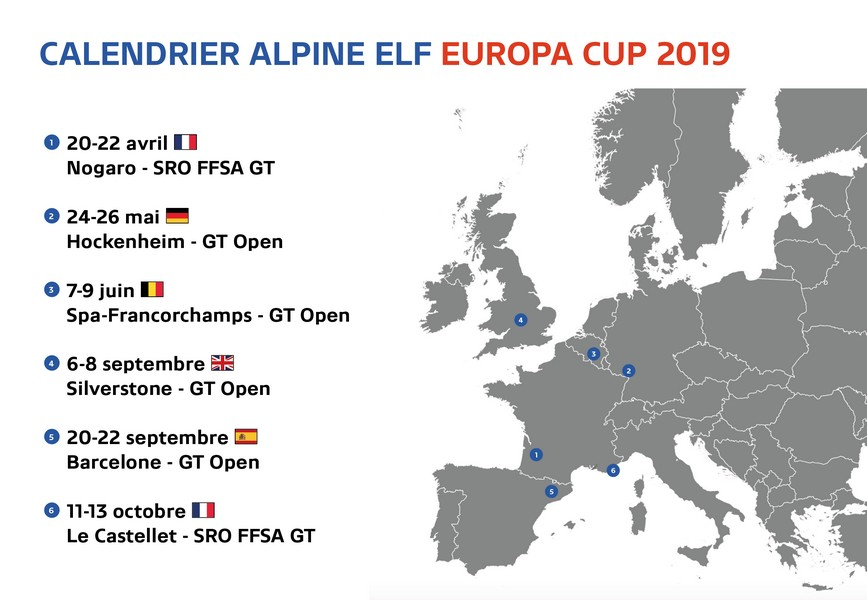 Calendrier Prix.Le Calendrier 2019 Devoile Endurance Info