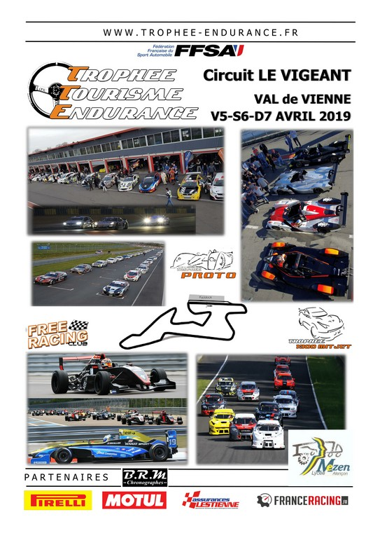 Circuit Val De Vienne Calendrier 2019.Trophee Tourisme Endurance La Saison 2019 Demarre Ce Week