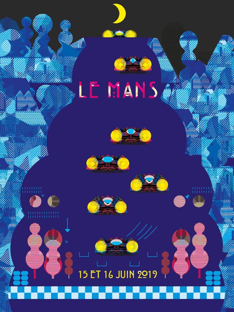 24h Imaginent 24 L'affiche Illustrateurs Du Des MansEndurance Info TF1JcK3l