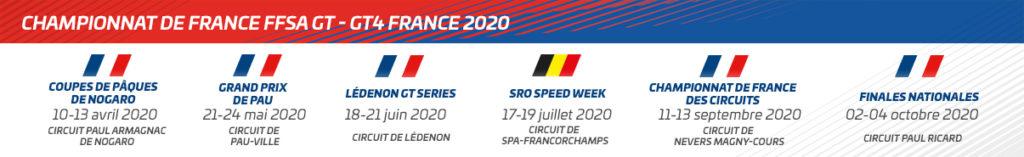 Calendrier Magny Cours 2020.Le Championnat De France Ffsa Gt Officialise Son Calendrier