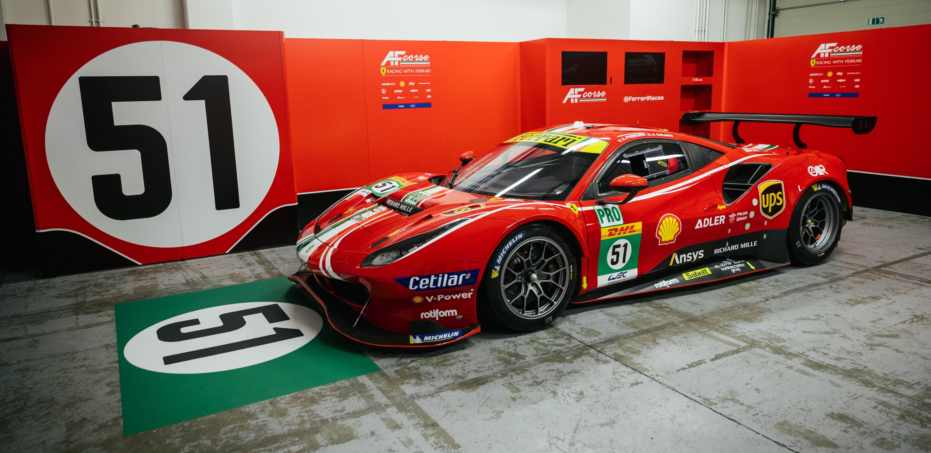 Ferrari dévoile ses couleurs 2021 - Endurance-Info