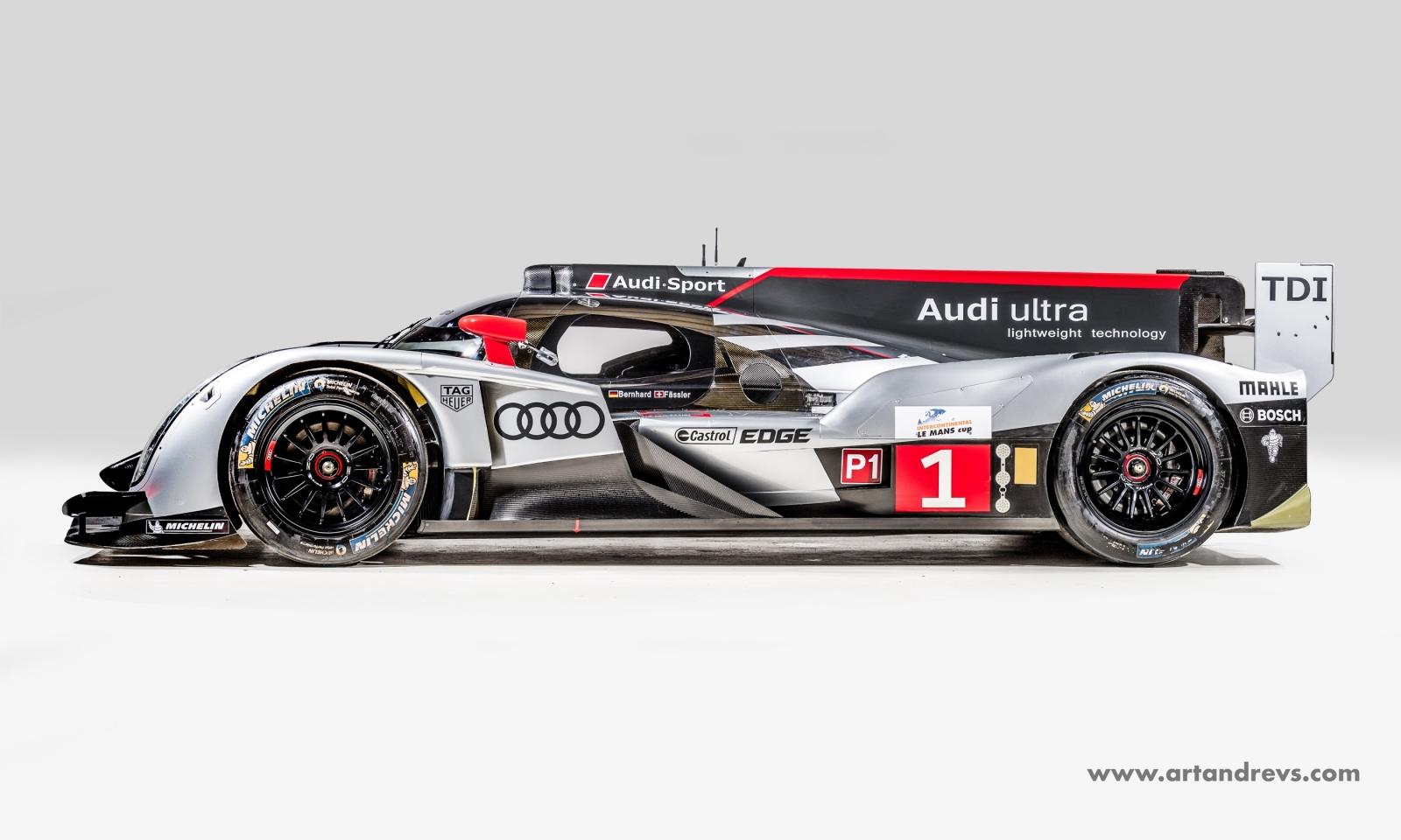 Une Audi R18 TDI ultra disponible… - Endurance-Info